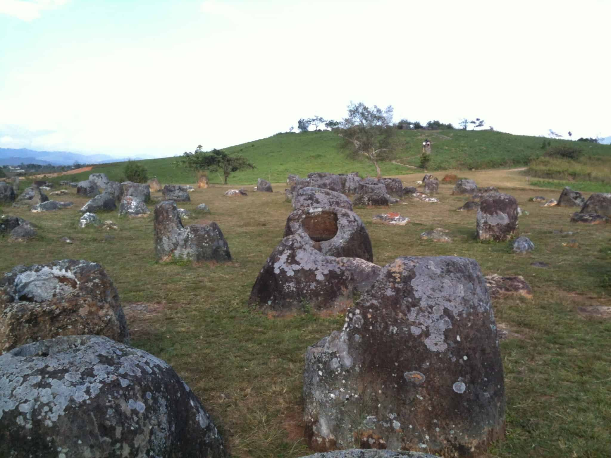 Slightly Ajar – at the Plain of Jars