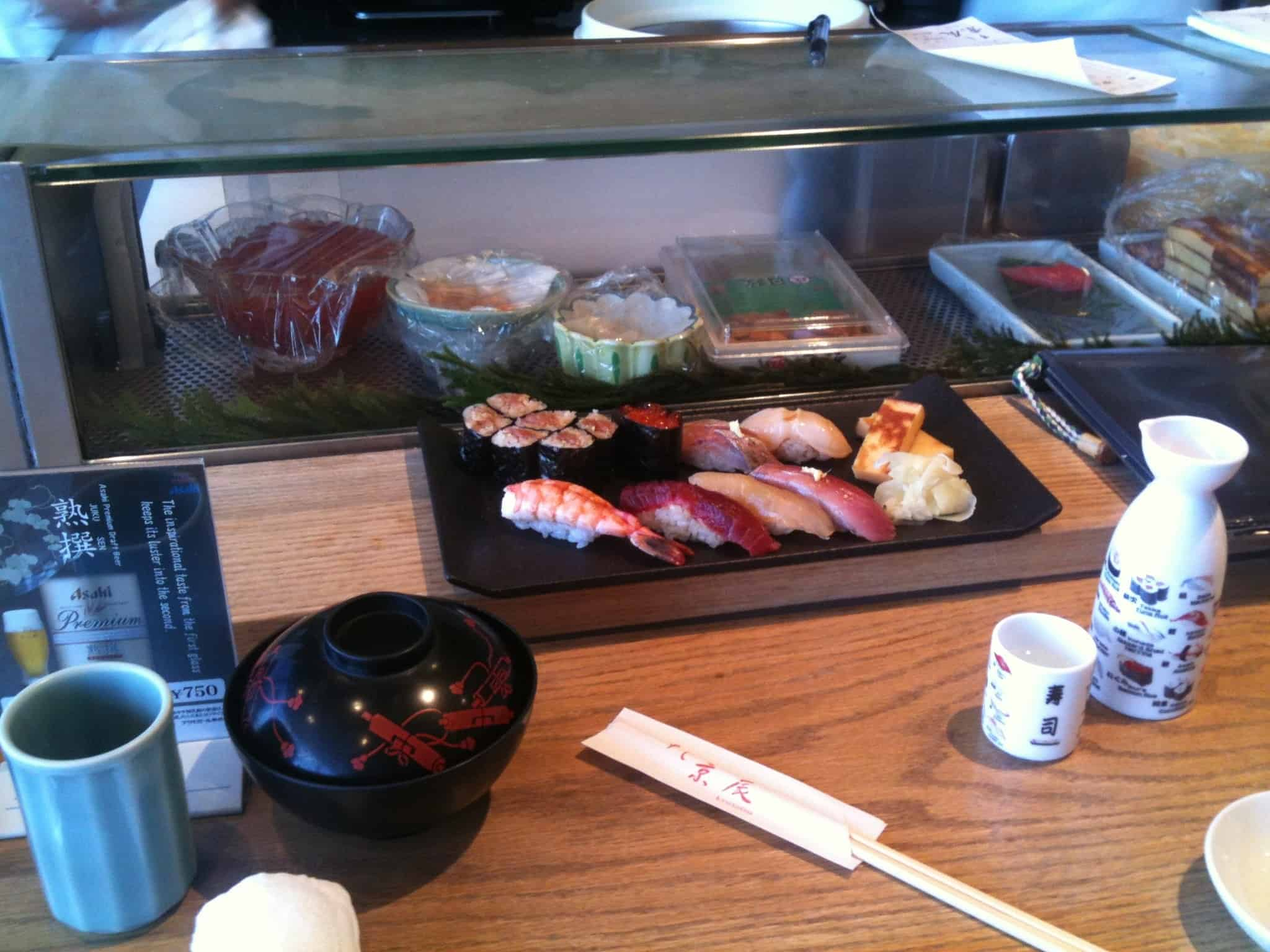 """My First """"Real"""" Sushi"""