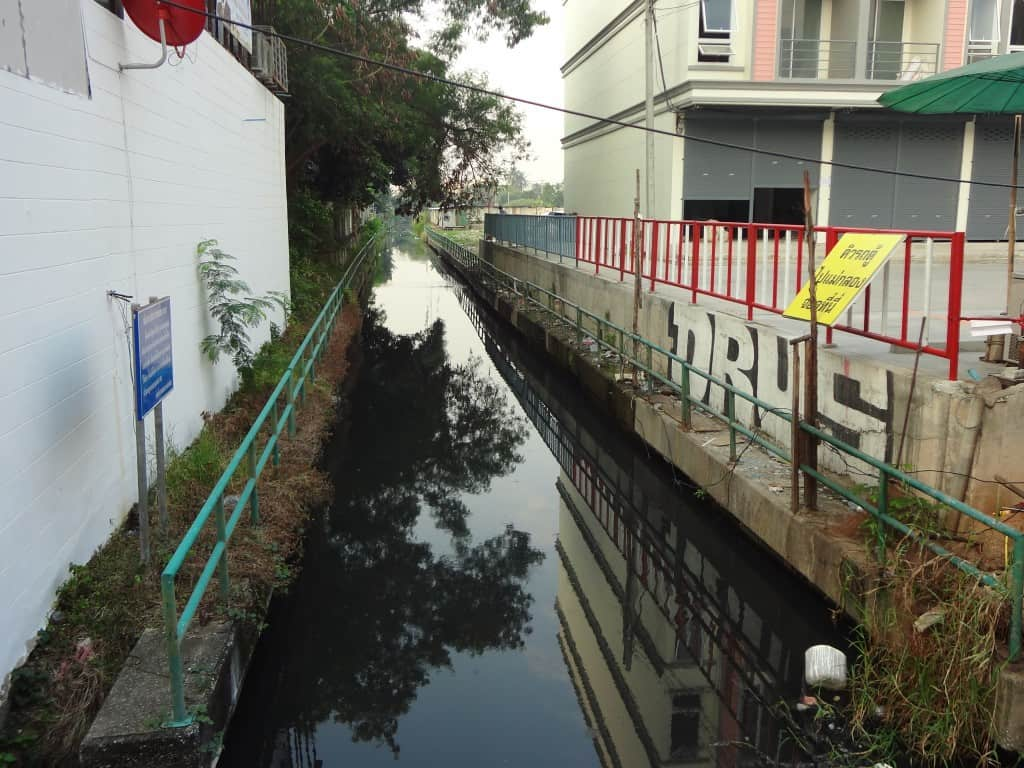 Another canal crisscrossing the area.