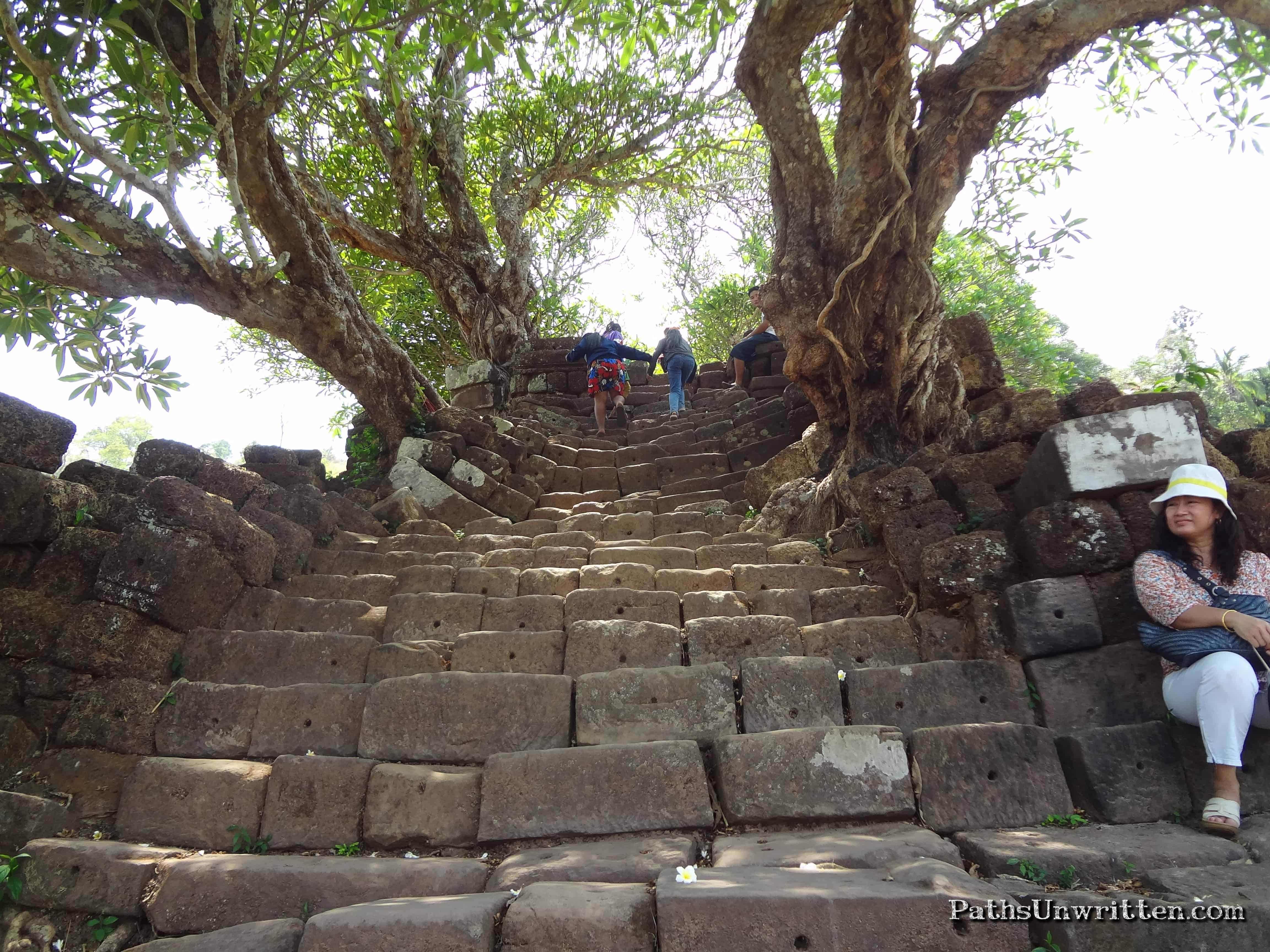 Vat Phou Staircase