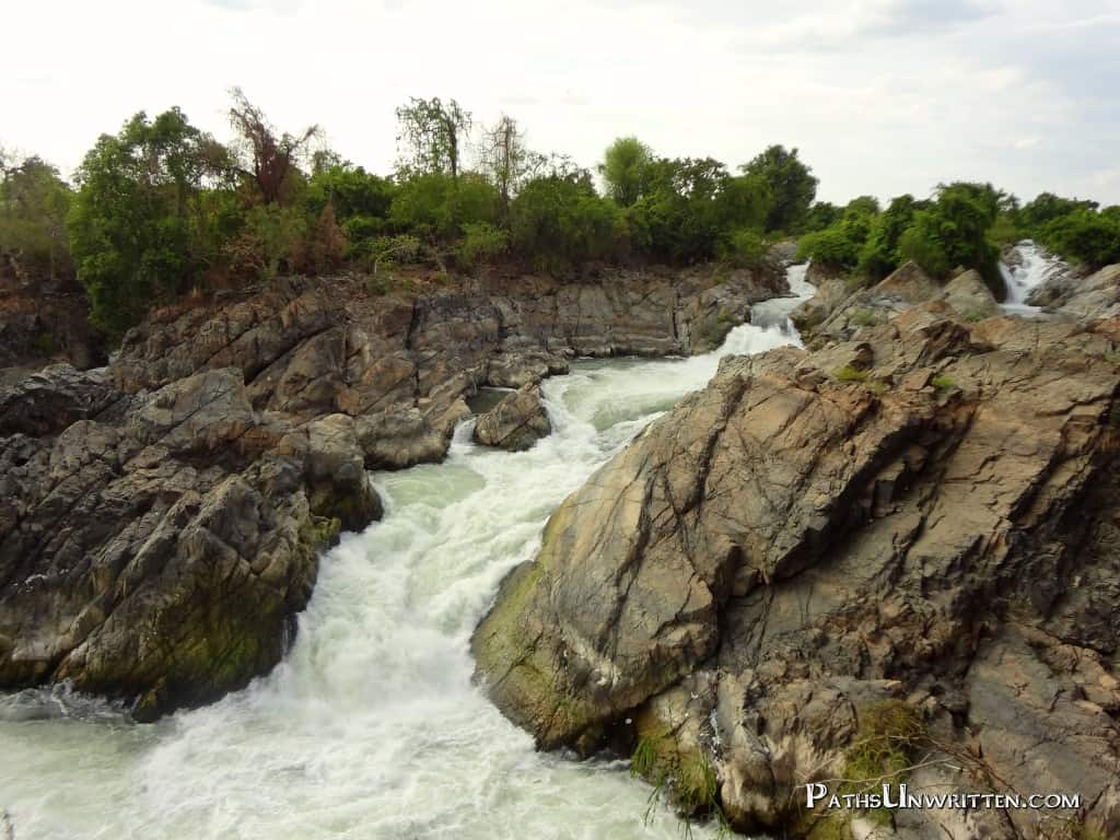 Earth -  The craggy, impassable, waterfalls of the 4000 Islands.