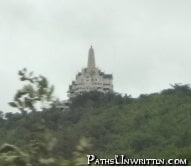 The temple I was searching for at maximum zoom.