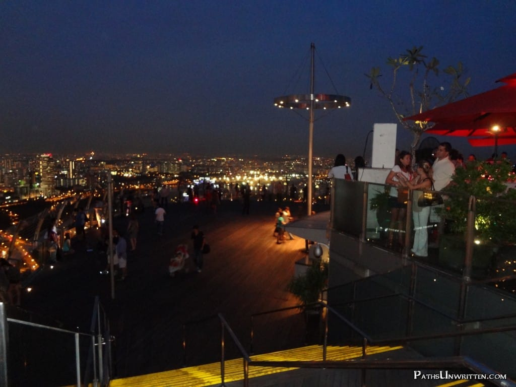 The SkyPark Observation Deck.