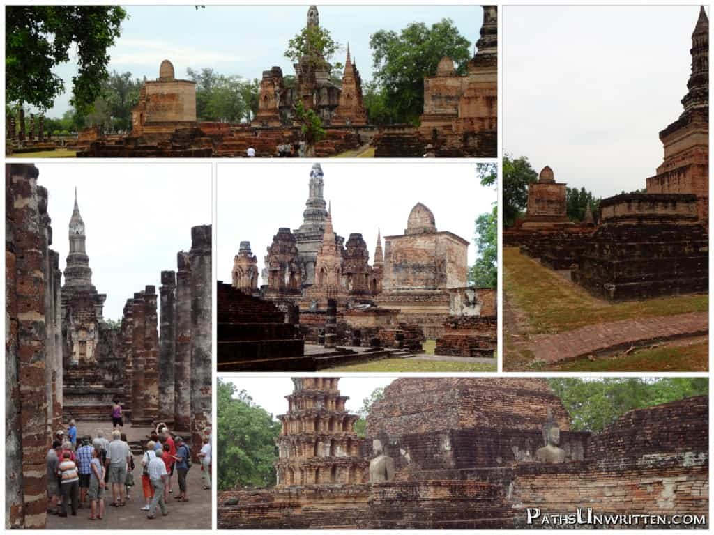 More structures from Wat Mahathat.