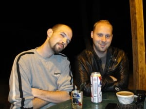 Jeff and I in 2011.