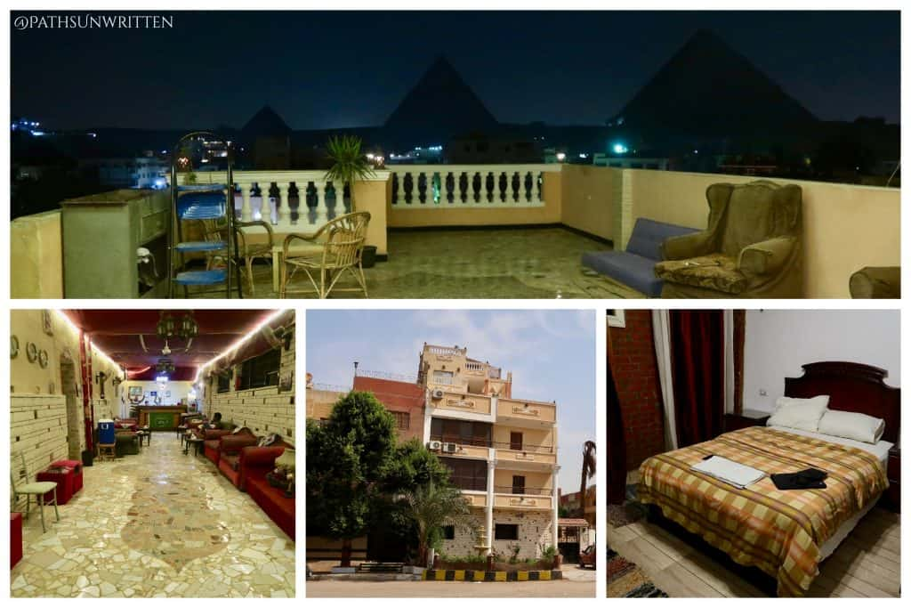 The Pyramids Loft is a 5 minute walk to the entrance of the Giza Pyramids.