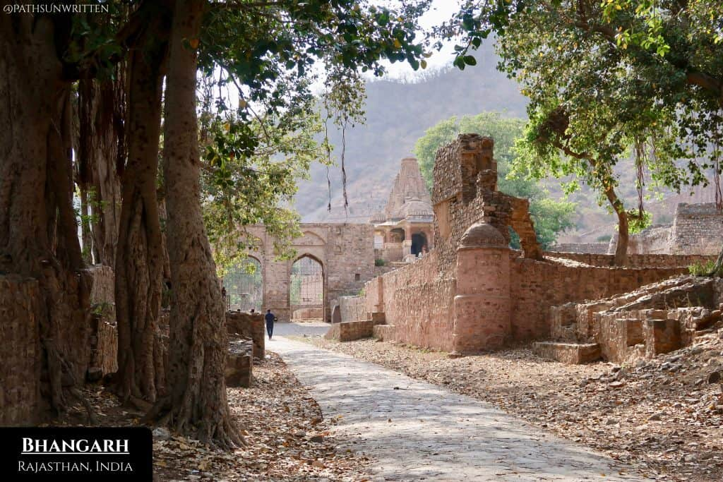 "Bhangarh and its fort are considered the ""Most Haunted Place in India""."