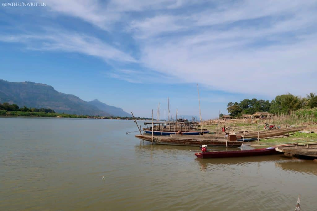 Crossing the Mekong River alone makes the trip worthwhile.