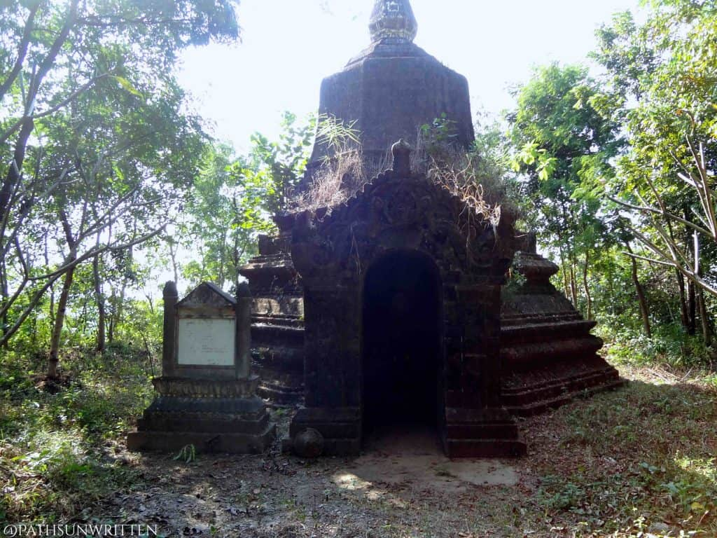 The hidden stupa I found in place of a fortress.