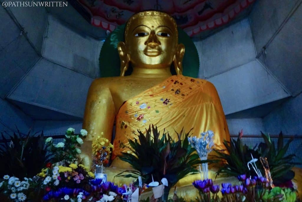 The Great Vesali Buddha Image, carved from a single stone