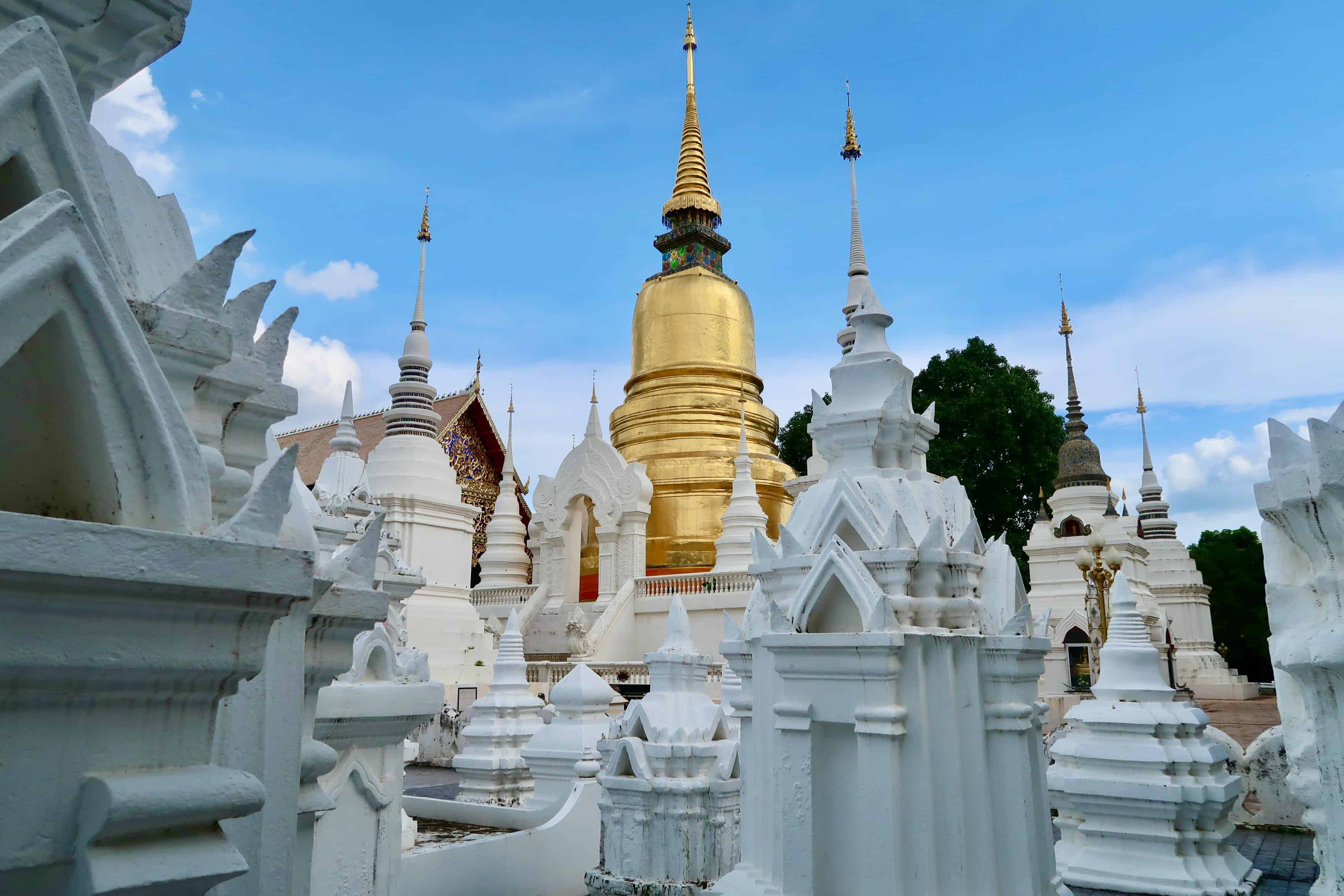 Wiang Suan Dok: Ancient Chiang Mai's Holy Outer City