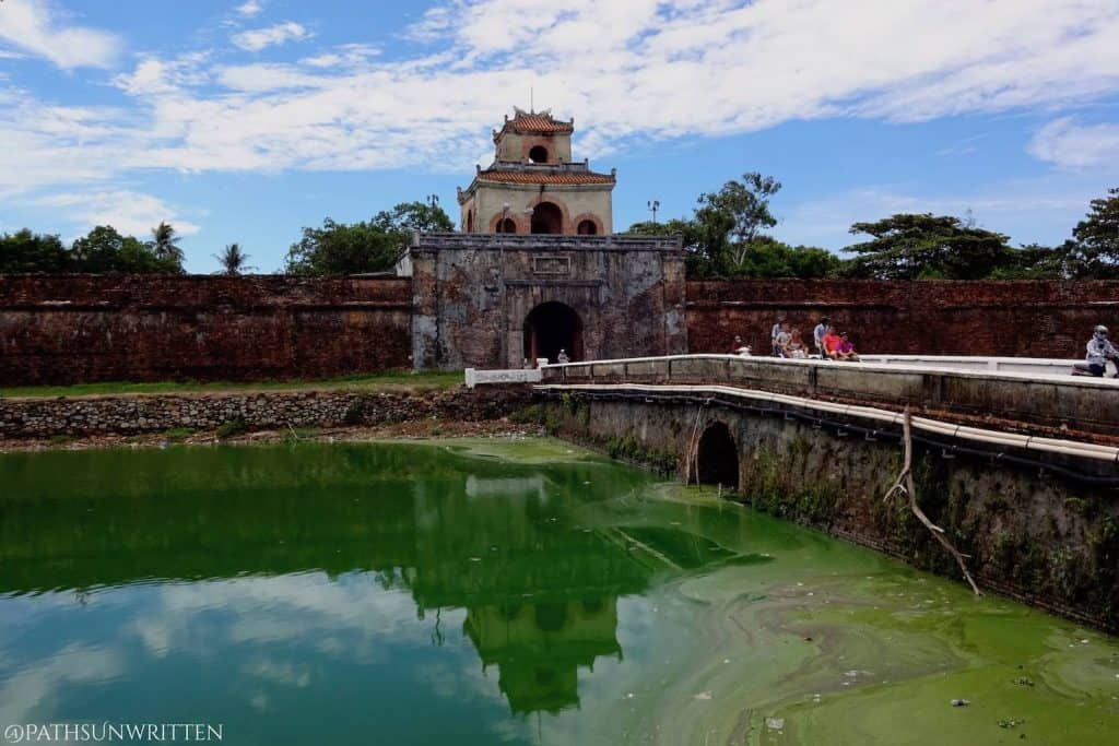 The gates of ancient Hue's Imperial City