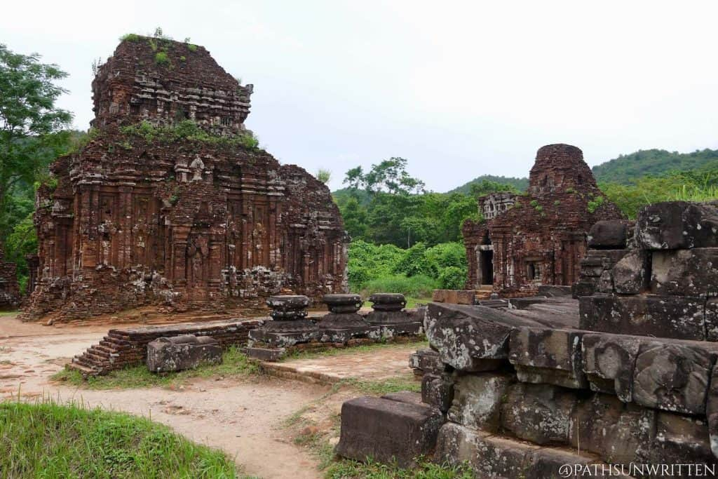 The Mỹ Sơn Sanctuary in Quảng Nam, Vietnam was the crown jewel of Champa architecture.