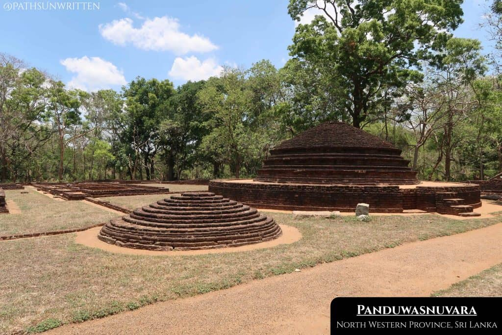 Panduwasnuvara was one of the ephemeral capitals of Sri Lanka during one of its fractured periods.