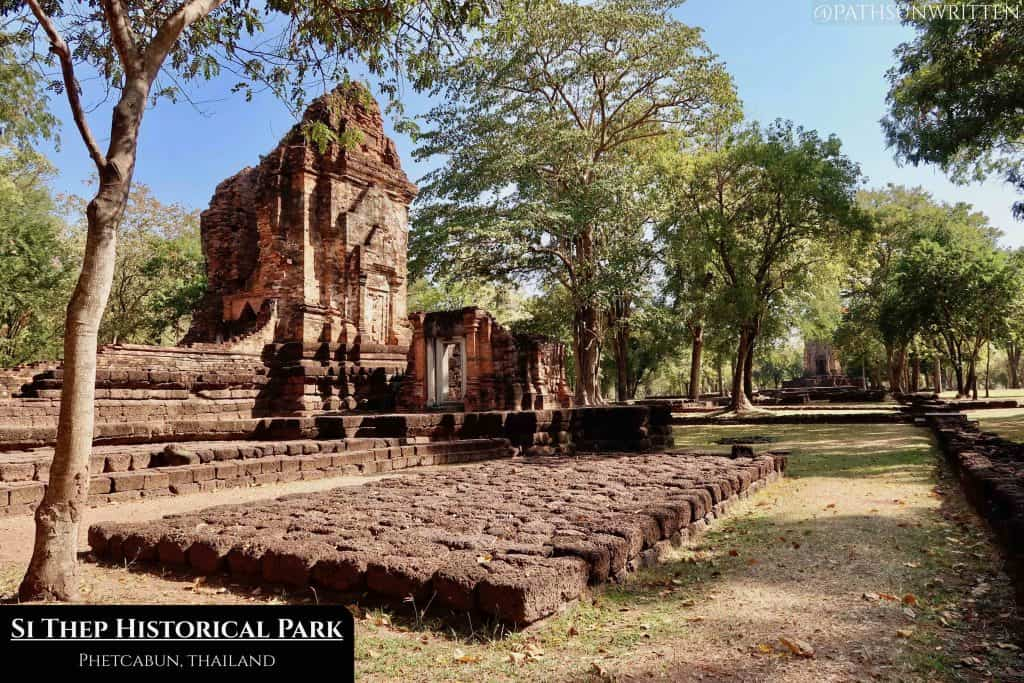 Si Thep was a walled Dvaravati city eventually inhabited by the Angkorian Empire.