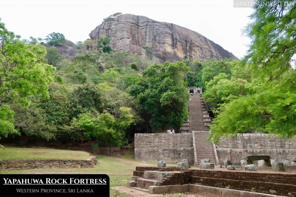 The megalithic staircase of Yapahuwa leads to the former Temple of the Tooth, housing the holiest relics of Sri Lankan royalty.