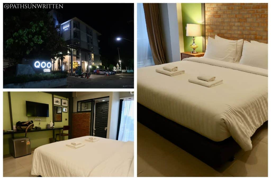 The QOO Hotel is convenient to Buriram's bus station and tourist area.