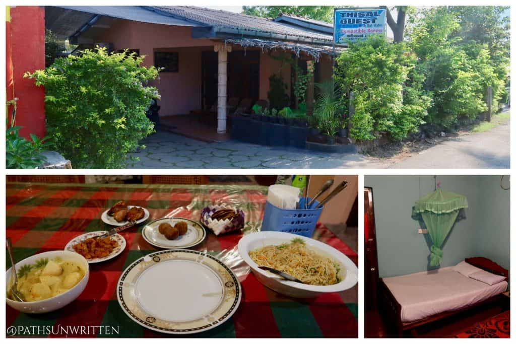 At Thisal Guesthouse, you can walk to ancient Polonnaruwa and then back for a home-cooked meal.