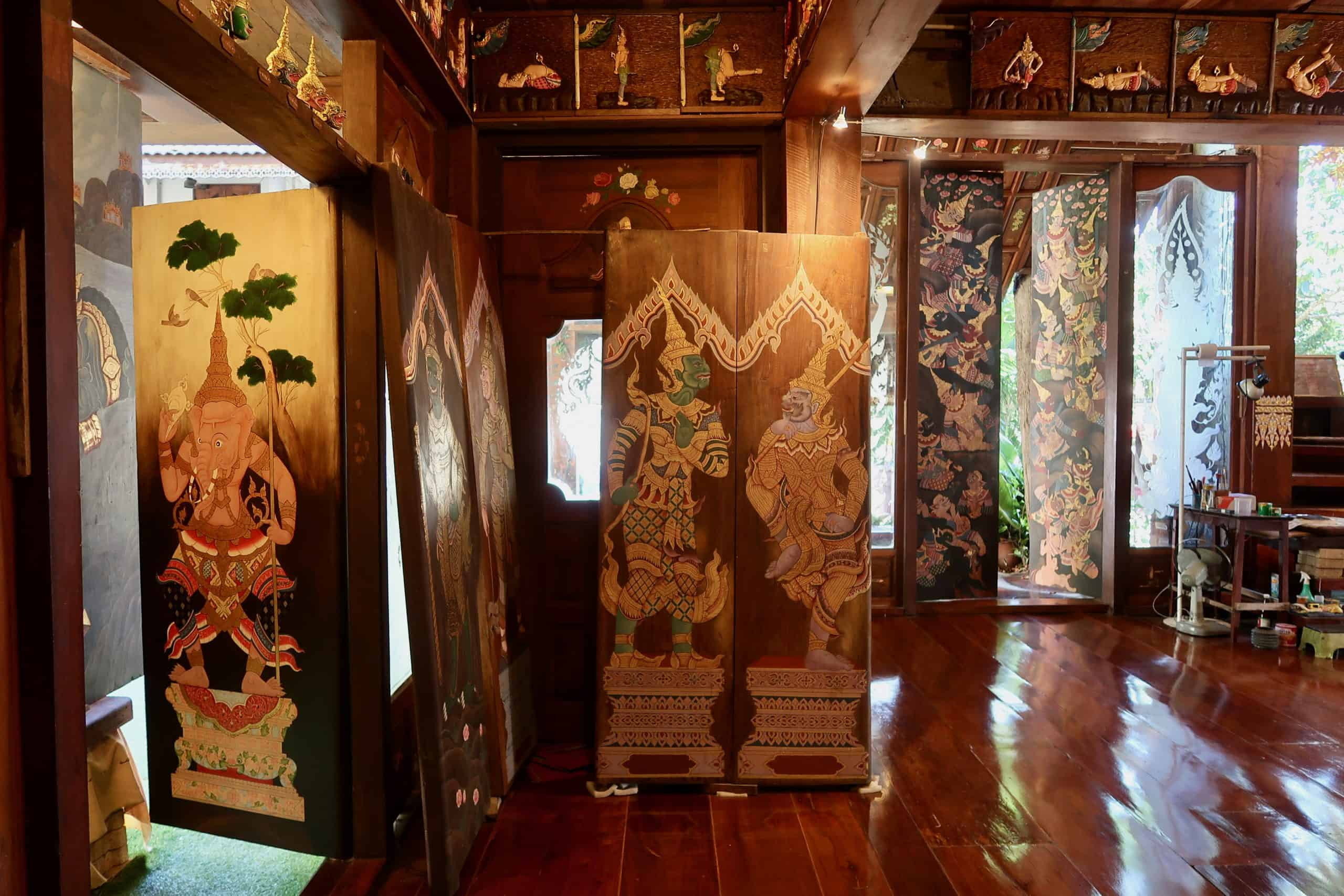 Baan Devalai Artist Temple: Chiang Mai's Wooden Masterpiece to Ganesh