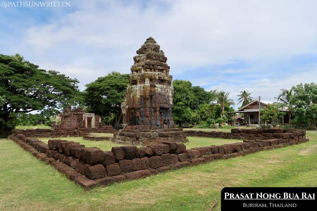 Prasat Nong Bua Rai is located near Prasat Phanom Rung, not far from the Cambodia border.