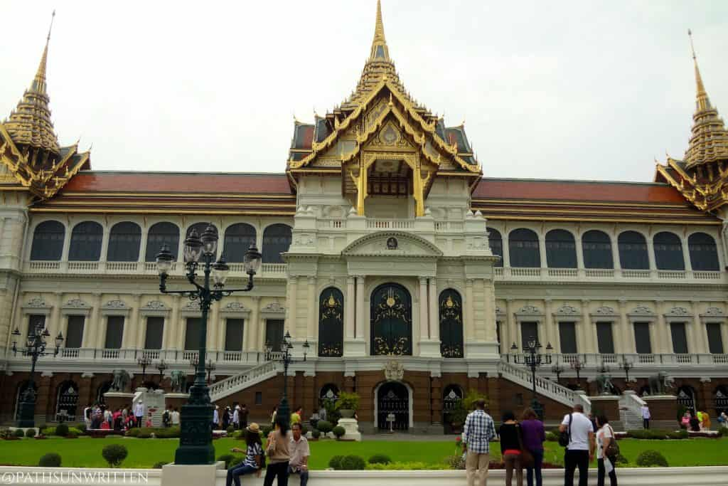 The Grand Palace, former home of Thai monarchs Mongkut and Chulalongkorn.