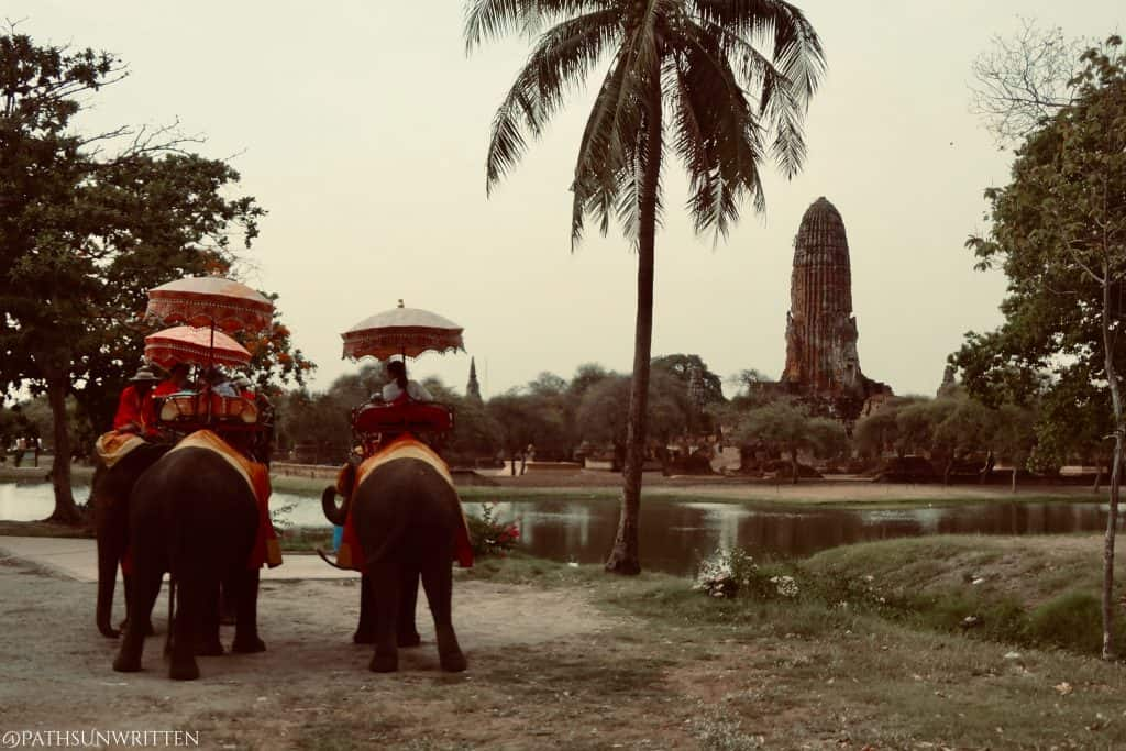 Ayutthaya, the first capital of the unified Thai state.