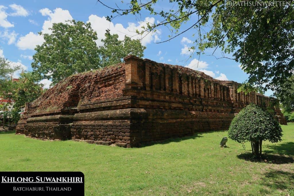 Ruined stupa from Khu Bua in Ratchaburi Province.