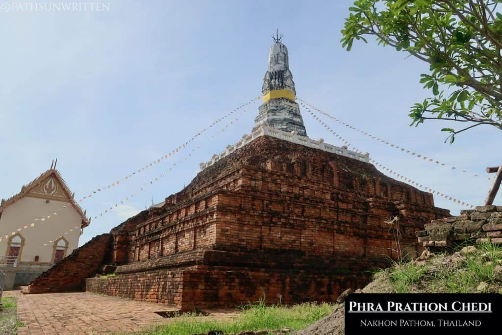 The Phra Prathon Chedi is the largest ruin in Nakhon Pathom.