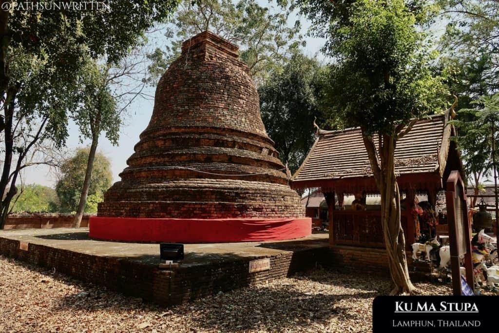 The Ku Ma stupa is the burial place of King Mahantayot's horse.