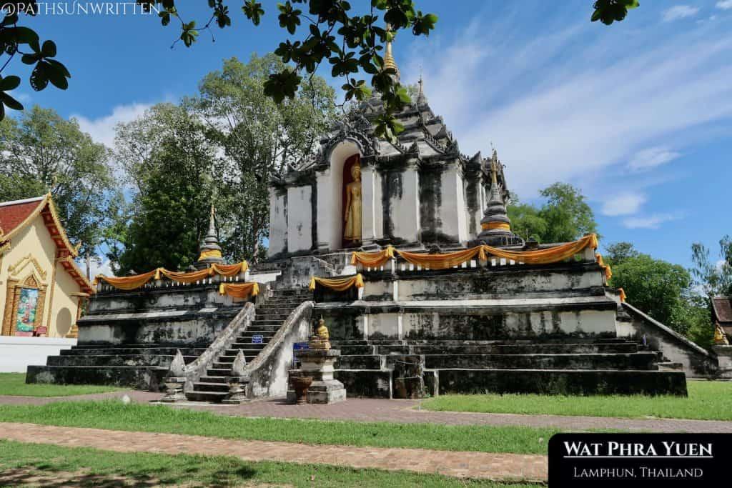 The Bagan-inspired stupa at Wat Phra Yuen was rebuilt in 1900 CE.