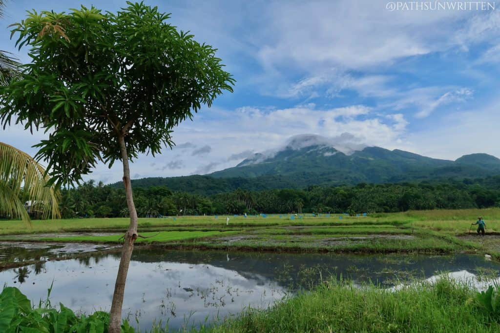 The Hibok-Hibok Volcano located in the center of Camiguin.