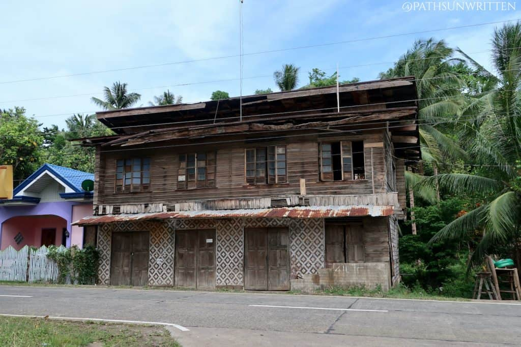 One of Camiguin's neglected ancestral houses.
