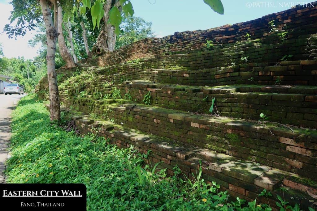 The 660-meter-long eastern city wall of Fang
