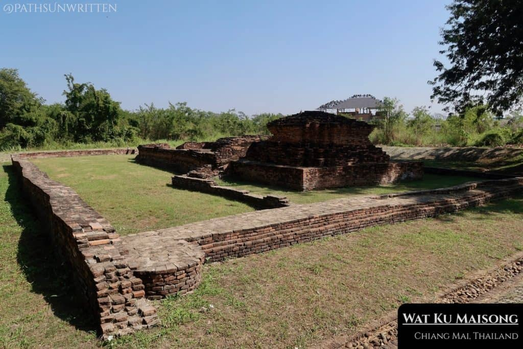 Wat Ku Maisong remains in relatively good condition