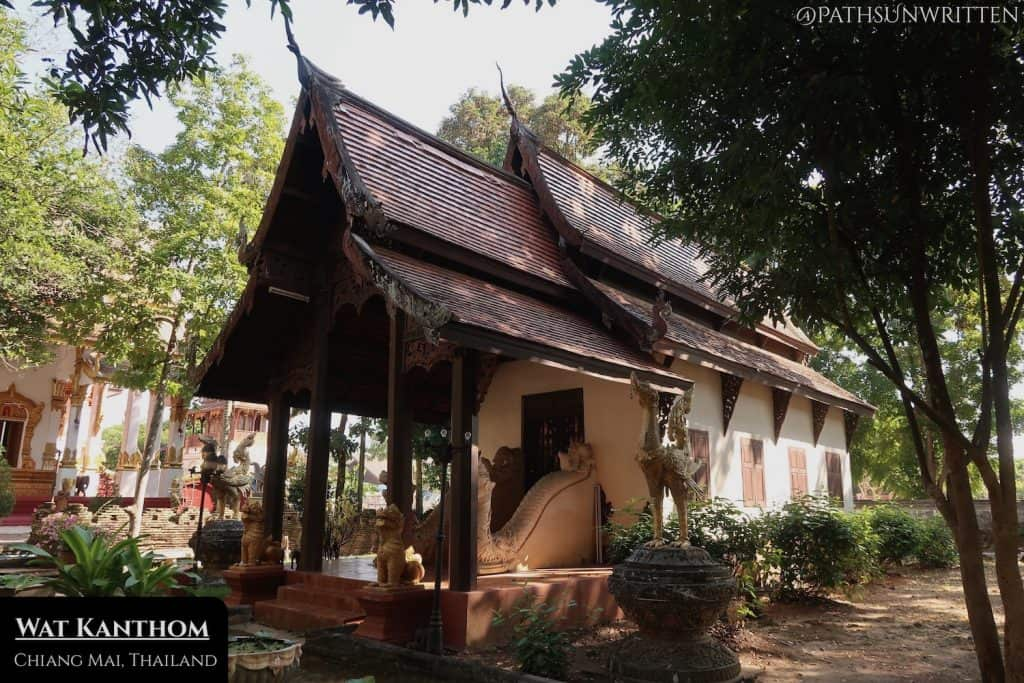 """""""The Church"""" building at Wat Kanthom, supposedly built in 1291 CE"""