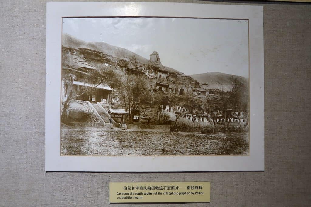 The Mogao Grottoes as the originally appeared when rediscovered