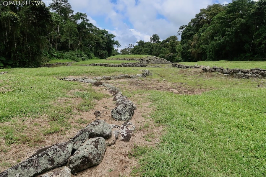 El Guayabo National Monument is the largest related cultural site to Cutris in Costa Rica and contains similar stone architecture