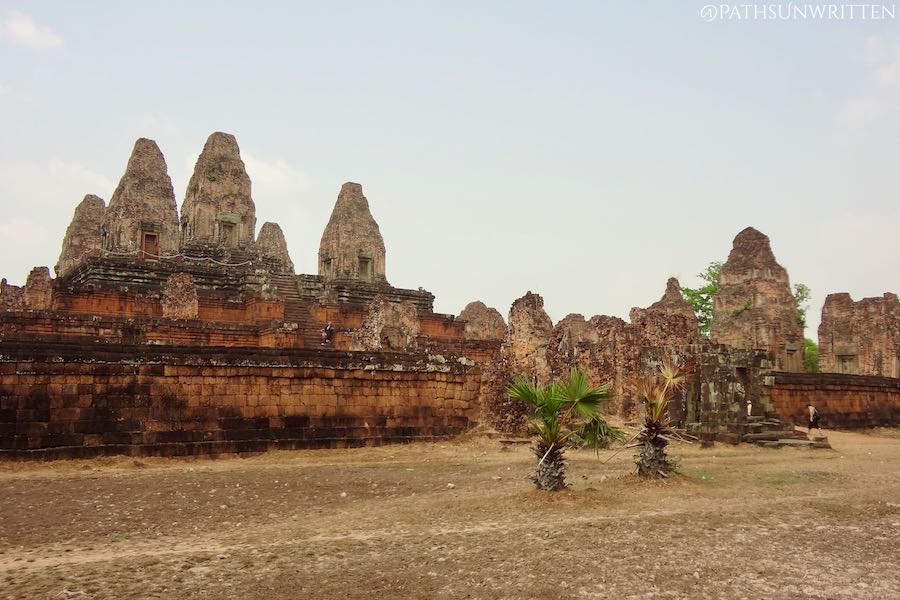 Pre Rup, lined with prangs on multiple levels, was one of Angkor's early temple mountains